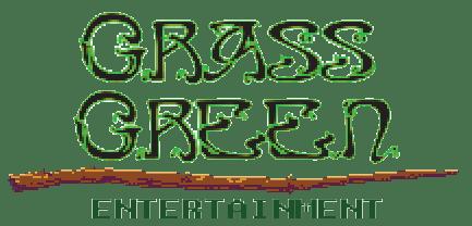 Grass Green Pixel Logo